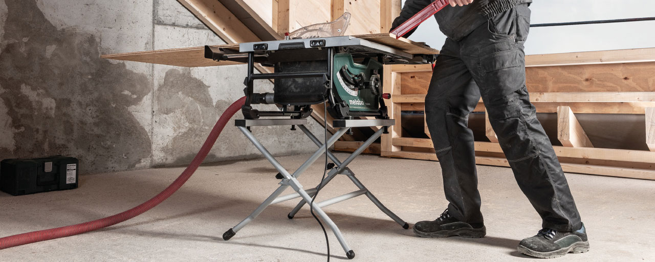 The new table saw TS 254 M